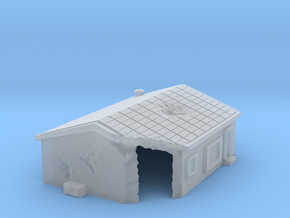 Damaged house 1 -free download in Smooth Fine Detail Plastic