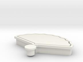 fan-hinamatsuri-cookiecutter in White Natural Versatile Plastic