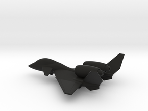 PZL-230D Skorpion (w/o landing gears) in Black Natural Versatile Plastic: 1:160 - N