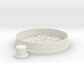 wreat-tree-cookiecutter in White Natural Versatile Plastic