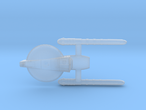 Confederation Foresight class Scout Cruiser in Smooth Fine Detail Plastic