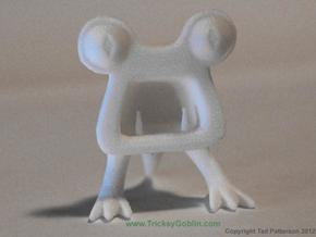 Horrible Monster Figurine in White Processed Versatile Plastic