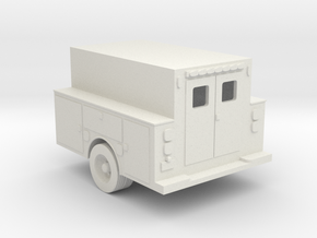 Pickup Truck Work Bed 1-50 Scale in White Natural Versatile Plastic