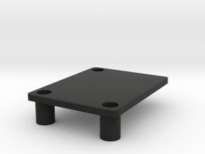 Winnebago 2100BH 2019 door latch block in Black Natural Versatile Plastic