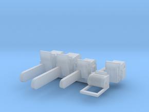 H0 1:87 Motorsägen in Smooth Fine Detail Plastic