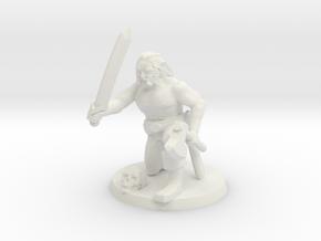 Lemmy Leif the Viking in White Natural Versatile Plastic