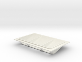 Hood Vent / Style 1 in White Natural Versatile Plastic