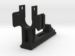 AUG Barrel Stabilizer with Rails in Black Premium Versatile Plastic