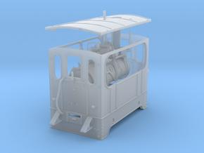 1:45 Silvolde steam tram 0e in Smooth Fine Detail Plastic