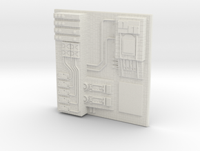 tile_deathstar_15 in White Natural Versatile Plastic