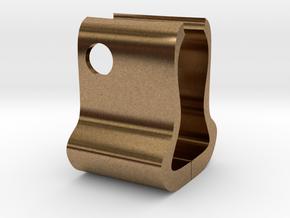 Card frame in Natural Brass