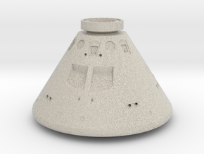 Orion Space Capsule in Natural Sandstone