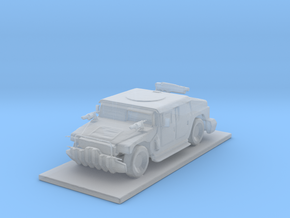 Humvee Truck in Smooth Fine Detail Plastic