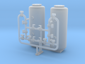 HO Scale Sand Filter in Smooth Fine Detail Plastic