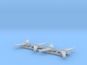 (1:700) (x4) Kayaba Ku-4 Katsuodori in Smooth Fine Detail Plastic