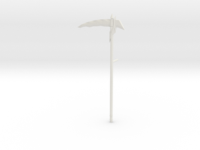 scythe in White Natural Versatile Plastic