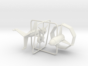 1/144 Heinkel Lerche in White Natural Versatile Plastic