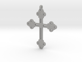 Holy Cross Pendant in Aluminum