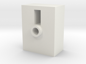 TR Faceplate Base (Downloadable) in White Natural Versatile Plastic