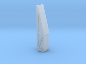 Car Ramp in Smooth Fine Detail Plastic