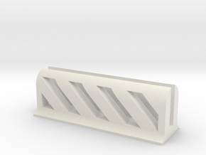 Business Card Holder in White Natural Versatile Plastic
