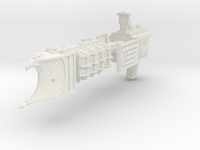 Crucero Ligero clase Defiant in White Natural Versatile Plastic