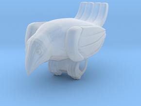 Bird Pendant  in Smooth Fine Detail Plastic