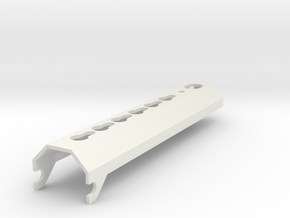 lancer tactical lt-200 lower rail in White Natural Versatile Plastic