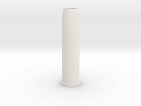 Airsoft WinGun Revolver Compatible 6mm 3-BB Shell in White Natural Versatile Plastic