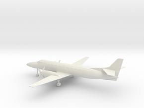 Fairchild Swearingen Metroliner III SA227 in White Natural Versatile Plastic: 1:72