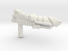 MOTU Inspired Custom Mosquito Blaster for LEGO in White Natural Versatile Plastic