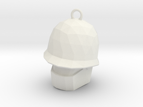 Team Fortress 2 Soldier Botkiller MK I in White Natural Versatile Plastic: Small
