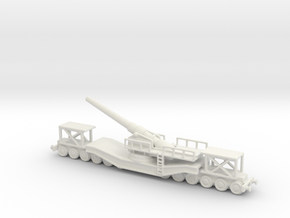 cannon de 240 1/144 railway artillery  in White Natural Versatile Plastic