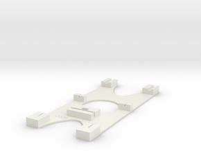 Gabarit Montage Aiguilles in White Natural Versatile Plastic