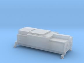 N Watertender NS slijptrein in Smoothest Fine Detail Plastic