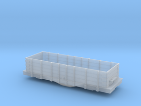 IT PRR Coal Gondola Hopper shorter bolster in Smooth Fine Detail Plastic