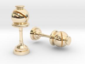 Bishop (Inception) Cufflinks in 14k Gold Plated Brass