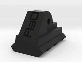 AUG Bottom Picatinny Rail (3 Slots) in Black Premium Versatile Plastic