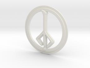 Hunter of Hunters Rune in White Natural Versatile Plastic