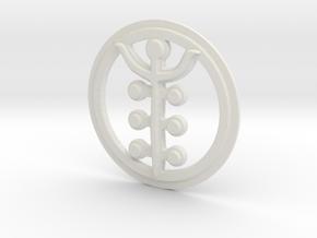 Impurity Rune in White Natural Versatile Plastic