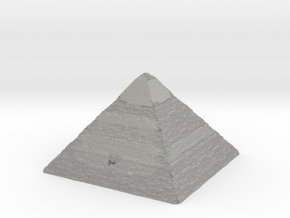 Pyramid of Khafre in Aluminum