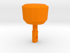 TF2 Cleaner's Carbine Charging Handle for MP5 in Orange Processed Versatile Plastic