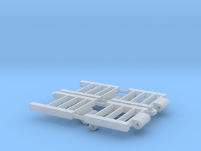 1/64 Combine Trailer Ramps in Smooth Fine Detail Plastic
