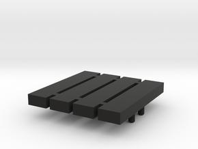 4 x Halterung für Loco Buggy V 2.2 in Black Natural Versatile Plastic