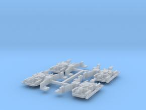 Set van 4 aspotten voor de Oersik in 1;45 in Smoothest Fine Detail Plastic