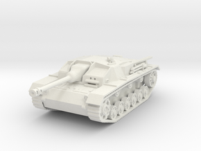 stug III c scale 1/87 in White Natural Versatile Plastic