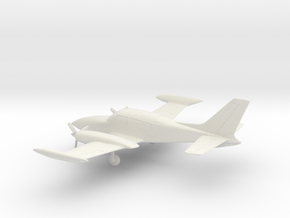 Cessna 310R in White Natural Versatile Plastic: 1:72
