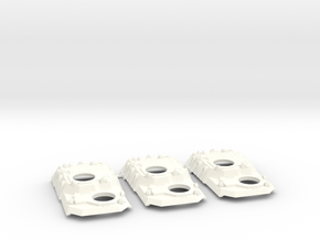 Heavy Transport Conversion - 3 Pack in White Processed Versatile Plastic