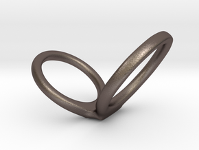 infinity scale 1.7 in Polished Bronzed Silver Steel