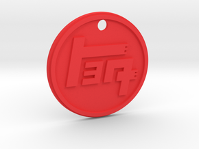 TEQ Toyota 60mm Key Chain in Red Processed Versatile Plastic
